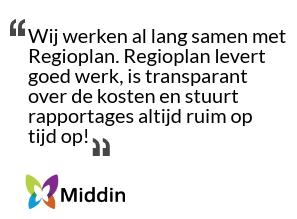 Quote Middin over Klanttevredenheidsonderzoek KTO