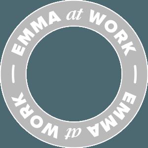 Het logo van Emma at Work